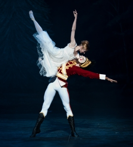 Clara and Nutcracker, image Patrick Baldwin