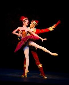 Galeazzi and Watson as Firebird and Prince