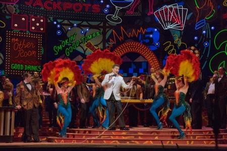 The Duke in his casino, all images MetOpera/ Ken Howard